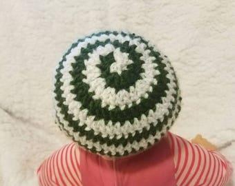 Peppermint Swirl Hat