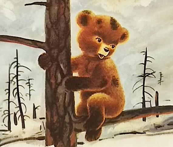 1955 Smokey Bear Matted Vintage 8x10 Print