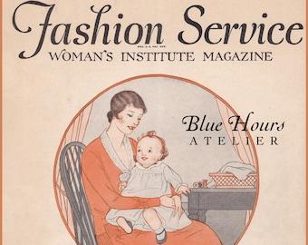 PDF Reproduction - 1930 - January Fashion Service Magazine - Woman's Institute