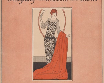PDF Reproduction - 1924 - Draping and Designing with Scissors and Cloth - Woman's Institute Book