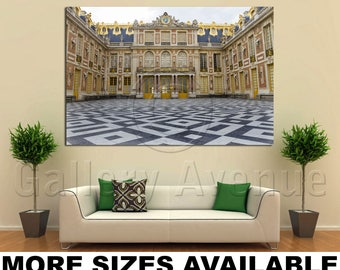 Wall Art Giclee Canvas Picture Print Gallery Wrap Ready To Hang Chateau De  Versailles France 60x40 48x32 36x24 24x16 18x12 3.2