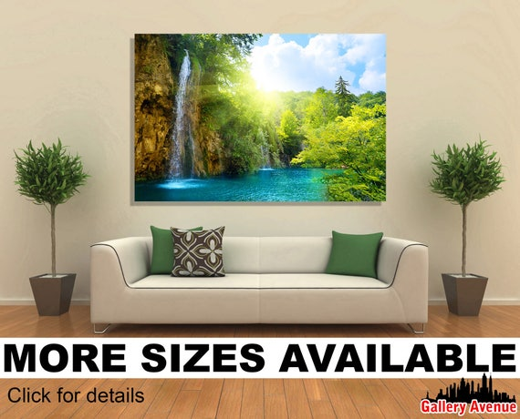 Wall Art Canvas Picture Print Charleston SC Road Forest Trees 3.2