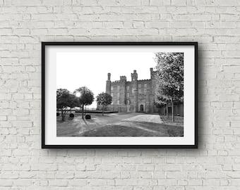 The Castle - Black & White Photograph