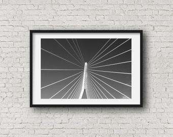 Waterford Bridge - Black & White Photography