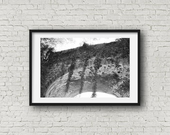 The Bridge - Black & White Photograph