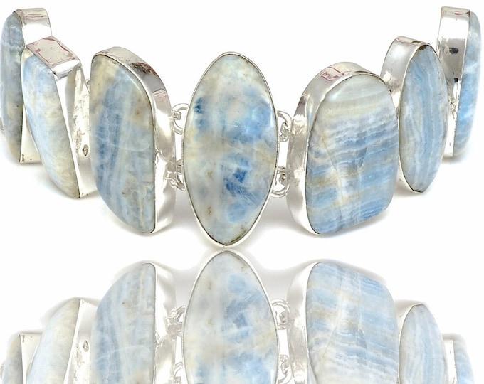 Scheelite Genuine Gemstone Bracelet B4412