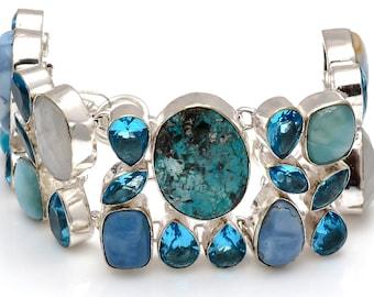 Turquoise Owyhee Opal Bracelet B3768