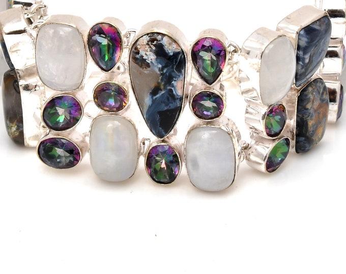 Pietersite Moonstone Bracelet B3774
