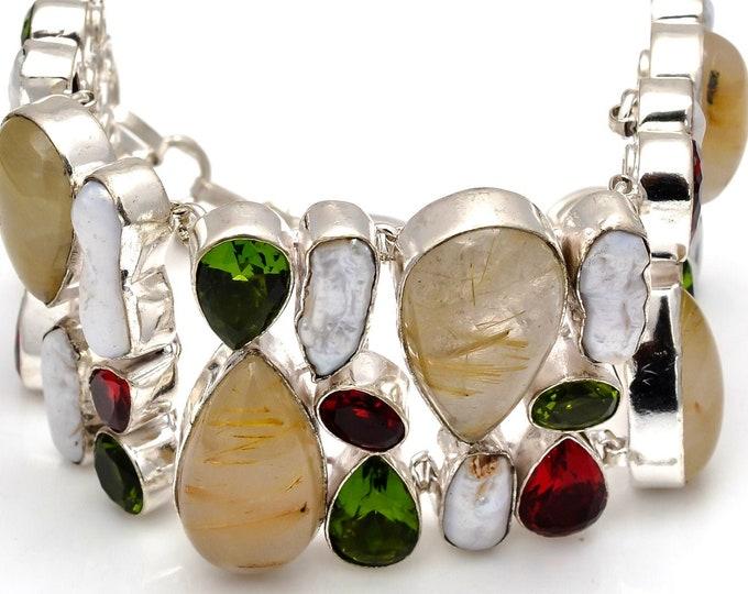 Rutile Quartz Bracelet B3762