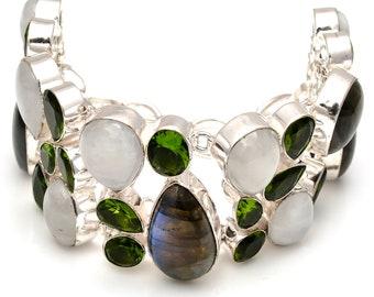 Labradorite Moonstone Bracelet B3769