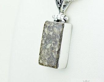 Turtella Jasper 925 S0LID Sterling Silver Pendant + 4MM Snake Chain p3577
