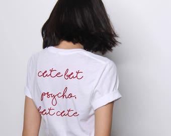 c908bf7d Cute But Psycho Shirt, Funny Tshirts, Psycho Shirt, Christmas Gifts for  Her, Funny Christmas Shirts, Cute T shirts, Graphic Tee