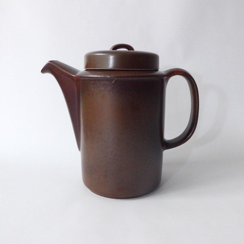 Arabia Ruska coffee pot vintage 1960s/1970s. Ulla Procopé image 0