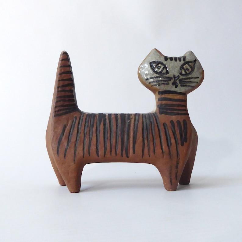 Vintage Lisa Larson 'Sassy Standing Cat' for image 0