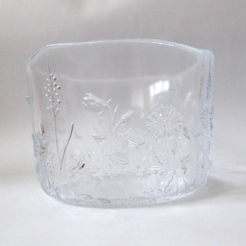 Kosta Boda Ulla Swedish art glass bowl. Kjell Engman Sweden. image 0