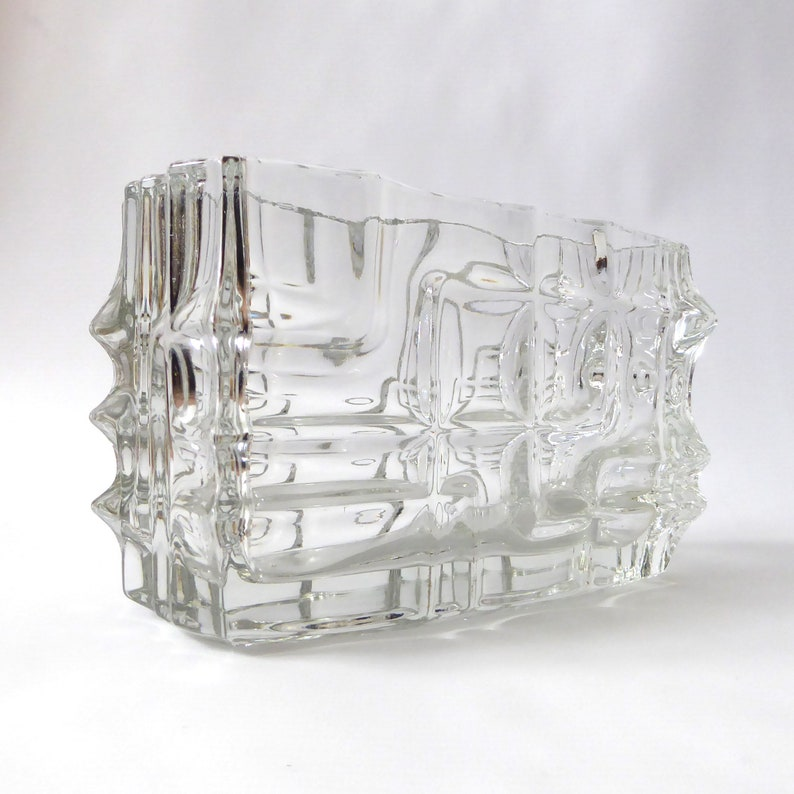 Rosice Glassworks jardiniere by Vladislav Urban 619. image 0