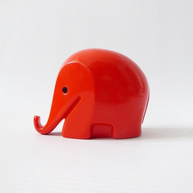 Retro Drumbo elephant money box/piggy bank. Luigi Colani image 0