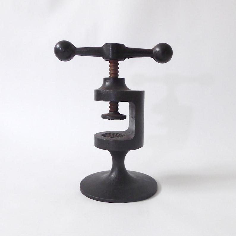 Vintage 1960s Robert Welch Hobart nutcracker. Black cast iron image 0