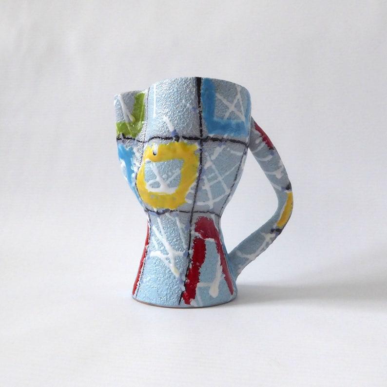 Vintage Italian Fratelli Fanciullacci pottery/ceramic jug. image 0
