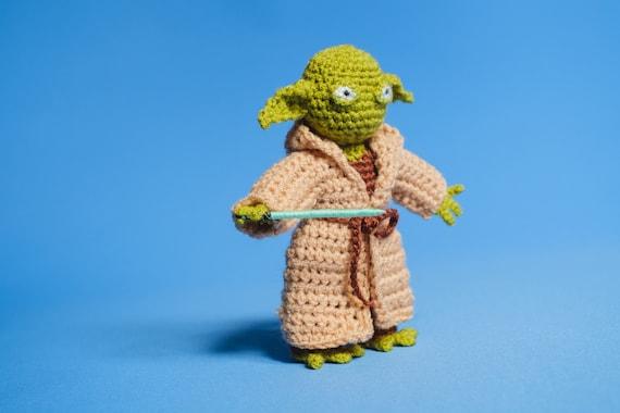 PATRÓN LIBRE AMIGURUMI: Yoda de La Guerra de las Galaxias | | 380x570