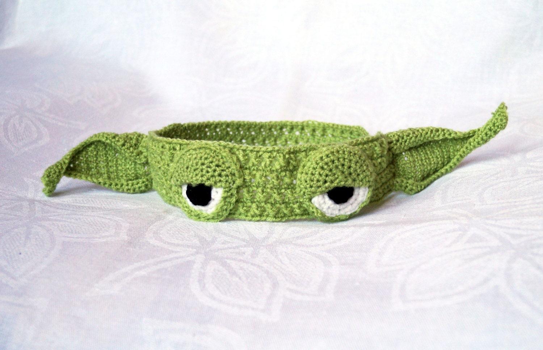 Yoda Headband Crochet Hat Pattern Pdf Yoda Hat Star Wars Etsy