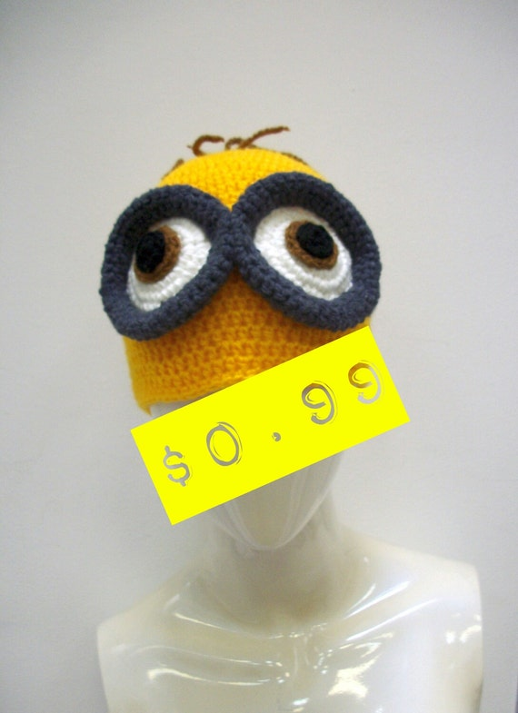 Minion Hat Pattern Pdf Minions Crochet Pattern With Pictures Etsy