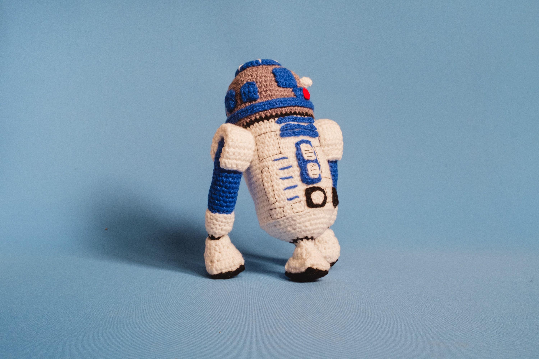 R2d2 Amigurumi Crochet Pattern Pdf Crochet Amigurumi Pattern Etsy