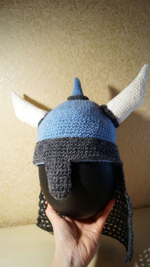 Viking Hat Helmet Pattern Pdf Pattern With Pictures Horned Etsy