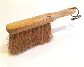 Wooden Soft Bristle Brush with Tree Design, Wood Brush, Wooden Gift, Soft Bristle Broom
