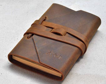 Refillable Leather Journal Leather Notebook Custom Journal(custom A5)