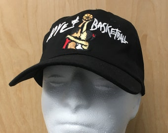 3b748ba7eba Love   Basketball Hat Movie Dad Hat Black Baseball Cap Love And Basketball  Costume Film 00s Monica Wright Quincy McCall Embroidery Gift Idea