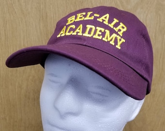 Bel Air Academy Hat Will Smith Dad Hat Baseball Cap TV Show Halloween  Costume Fresh Prince Carlton Banks Embroidery Quality Men s Gift Idea a9ef3845283f