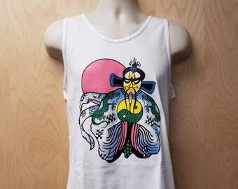 Jack Burton Tank Top Halloween Costume Movie Shirt Big Trouble Adult Men's China 80's Gift Idea