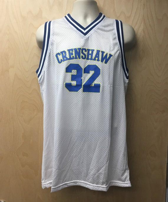 Crenshaw Monica Wright Jersey Basketball Uniform Movie  14a4f3226e