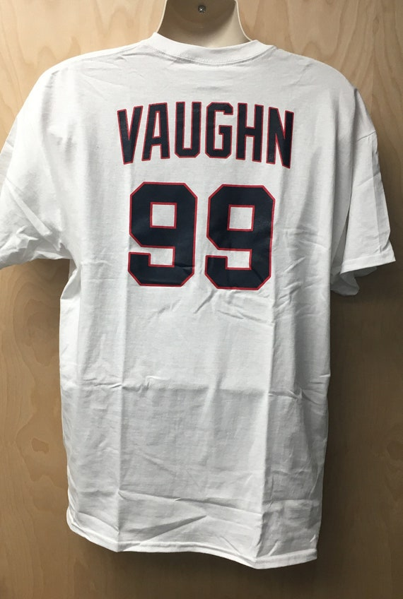 & Rick Vaughn T-Shirt Jersey Baseball Uniform Halloween Costume
