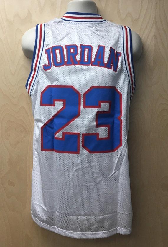 Tune Squad Michael Jordan Jersey Youth Basketball Uniform  a8a14f35072d