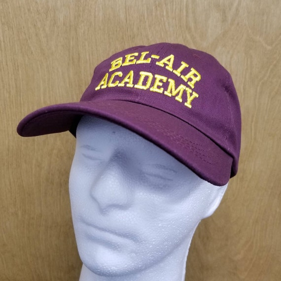 Bel Air Academy Hat Will Smith Dad Hat Baseball Cap TV Show  6936b63e43a