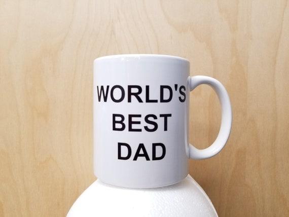 Worlds Best Dad Coffee Mug Worlds Best Boss Michael Etsy