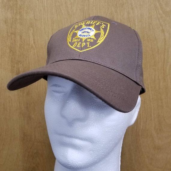 9a5e493d1d8 Rick Grimes Hat Sheriff s Department Baseball Cap