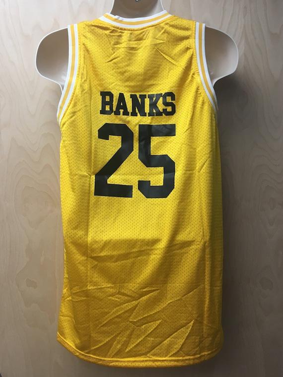Bel-Air Academy Carlton Banks Jersey Basketball Uniform TV  cdcbb28923ab