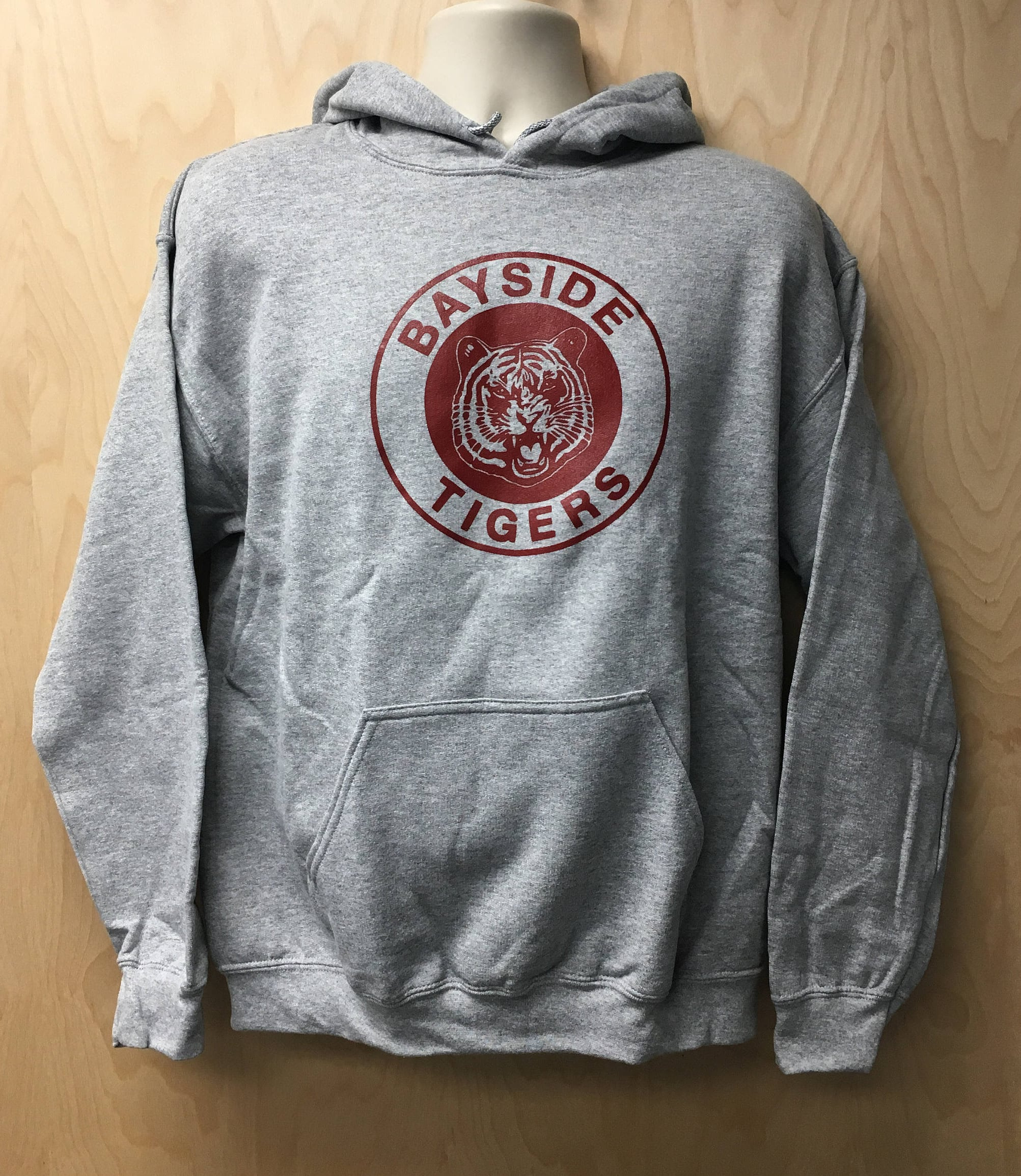 Bayside Tigers Logo Hooded Sweatshirt TV Show Zack Morris AC | Etsy