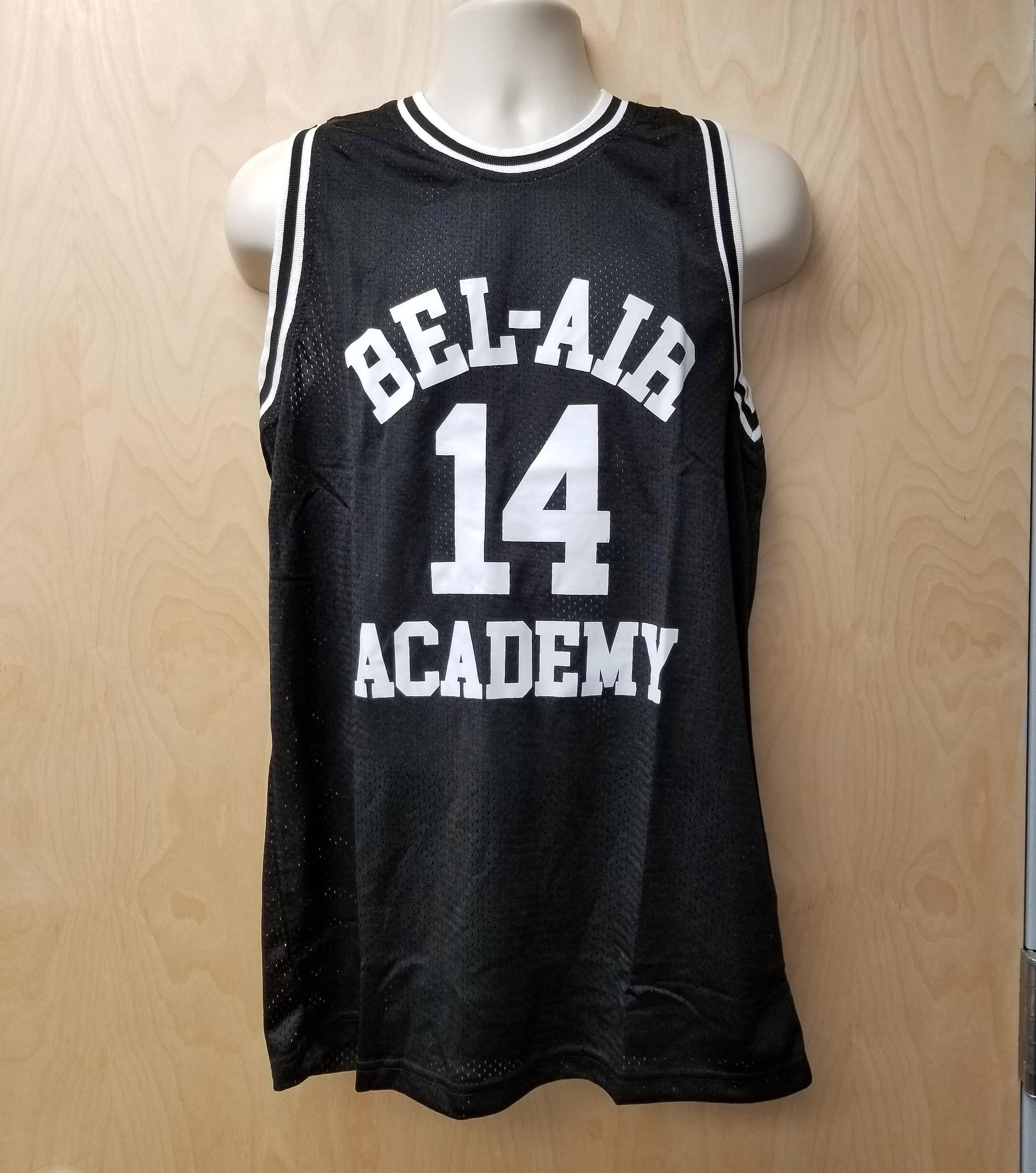 3906927ff08 Bel-Air Academy Will Smith Jersey Basketball Uniform TV Show