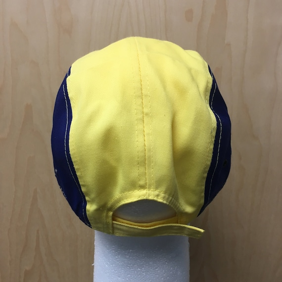 6193201ea5a Will Smith Hat Yellow And Blue Baseball Cap TV Show Halloween