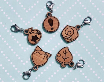 Animal Crossing Stitch Markers (Set of 5)