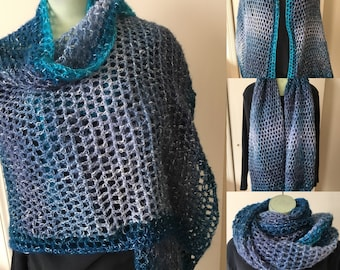 Wrap around shawl