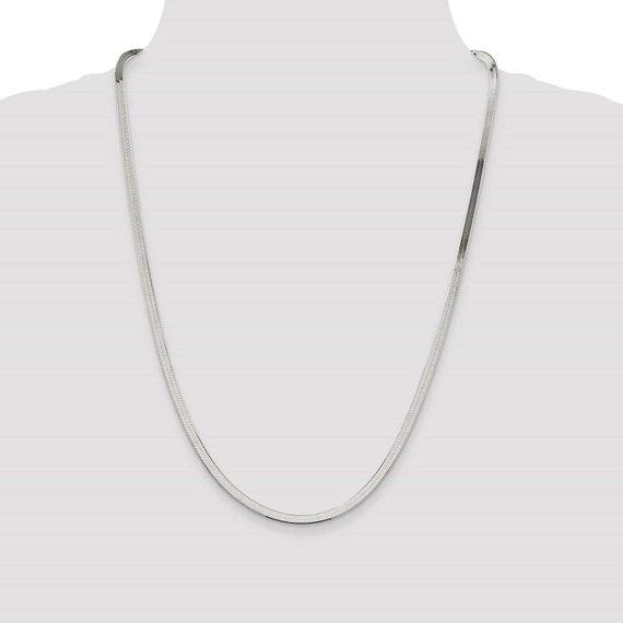 Sterling Silver 3mm Magic Herringbone Chain