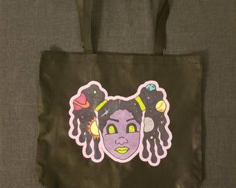 Glady Sky Large Tote Bag