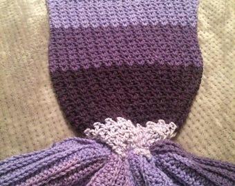 Purple Reign Very Long Lavish Amethyst Purple Dangle