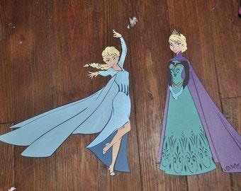 Queen Elsa Cut Outs