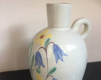 Anna-Lisa Thomson/Ekeby/1947/handpainted/vase/Swedish/scandinavian modern/upsala ekeby
